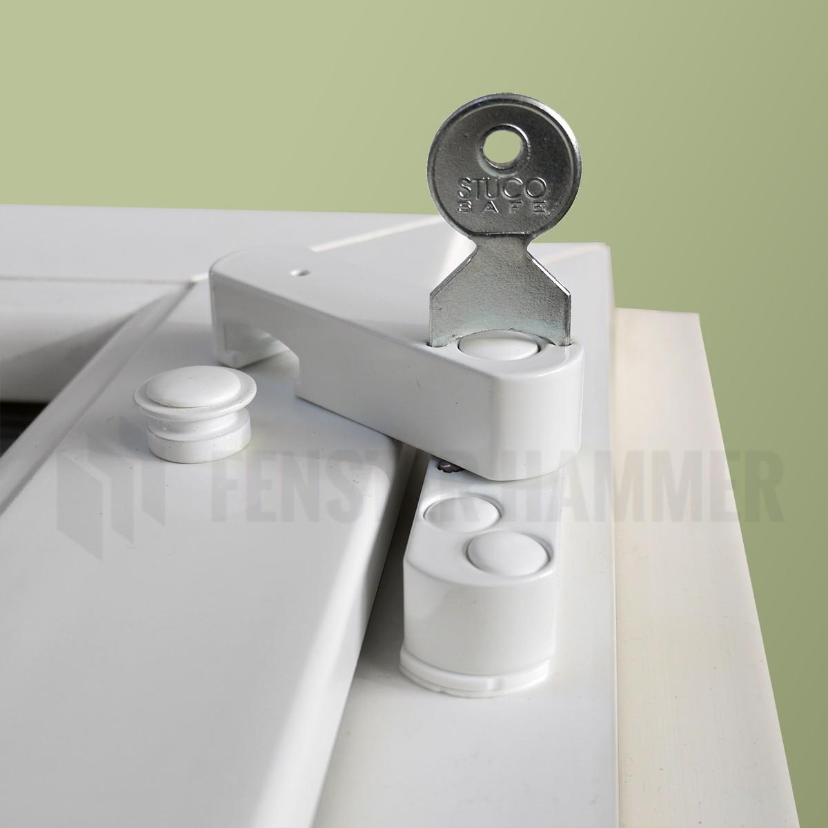 bever fenstersicherung mit pilzkopf wei 22sw oder braun 22sb fenster sicherheit. Black Bedroom Furniture Sets. Home Design Ideas